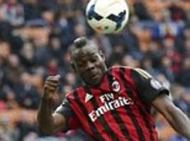 Serie A round up: Mario Balotelli hits personal best as AC Milan chase Inter Milan for final Europa League spot
