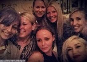 Gwyneth Paltrow Takes Star-Studded Selfie With Gwen Stefani, Nicole Richie
