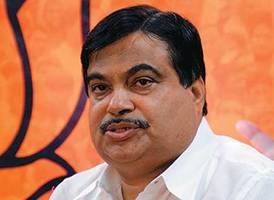 Gadkari attacks Congress for rampant corruption & creating a world record for inflation
