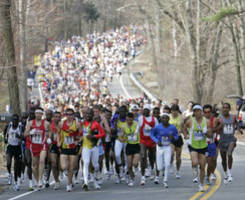 Woonsocket Resident Running Boston Marathon