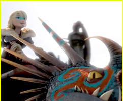 Astrid Proves She's The Coolest Viking Ever in New 'How To Train Your Dragon 2' Clip